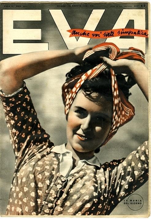 Steven Heller on Eva, a Stunning 1930s Italian Magazine #1930s #heller