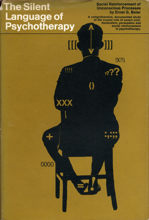 The Silent Language of Psychotherapy The Accidental Optimist #layout #book #typography