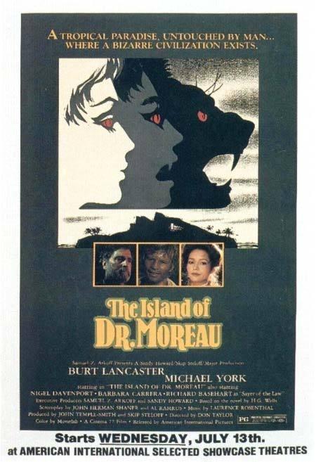 island_of_dr_moreau #movie #horror #poster