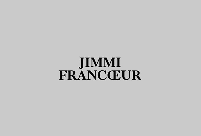 Jimmi Francoeur by Studio Beau #logotype #logo #typography