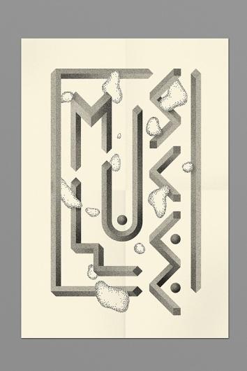 Oscar Pastarus – Illustration & Graphic design #hustle #oscar #pastarus #monochrome #poster #muscl