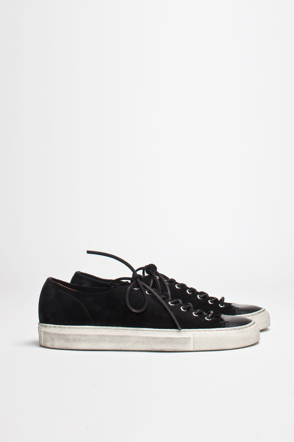 Buttero Tanino Low Suede Black   TRÈS BIEN #shoes #italian #sneakers #leather #buttero