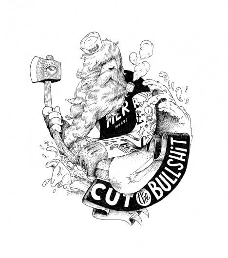 tumblr_ly40v3i2E91qznlrbo1_1280.jpg 800×905 pixels #type #illustration #mcbee