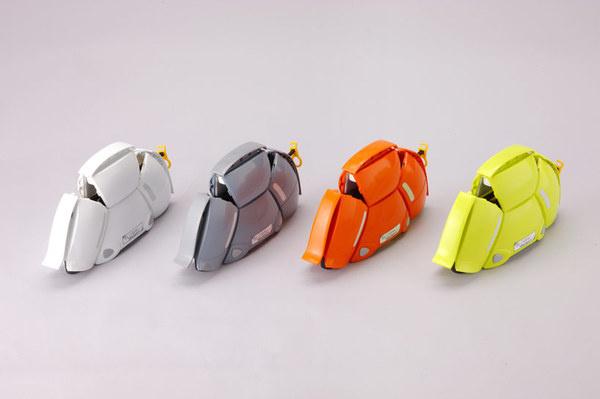 bloom: a folding helmet for emergency evacuation by toyo safety #helmet