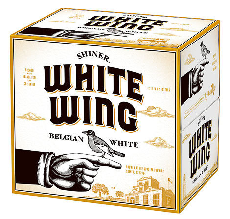 Shiner White Wing Case #packaging #beer