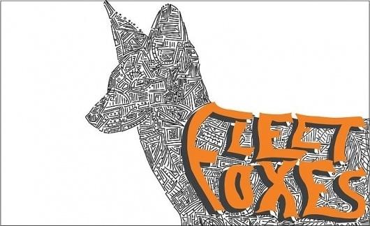 Wall Photos #lines #foxes #woltz #alex #fleet #poster