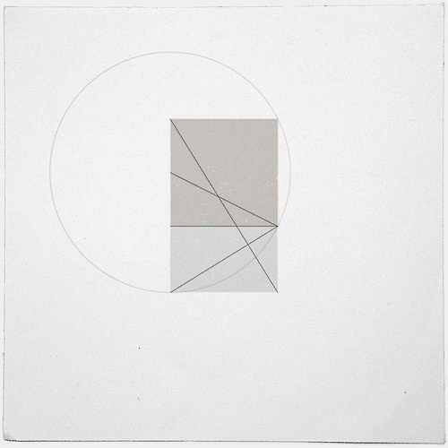 #391 Constructing another golden ratio – A new minimal geometric composition each day