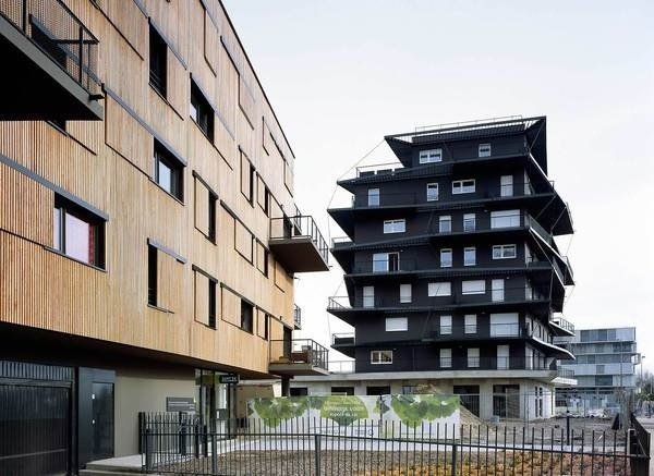 CJWHO ™ (80 Housings units in Bordeaux by Nicolas Laisné*...) #france #bordeaux #design #architecture #units #housing