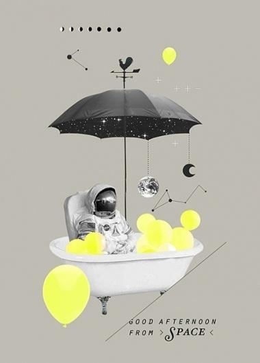 Featured designer: Koyuki Inagaki #collage #composition