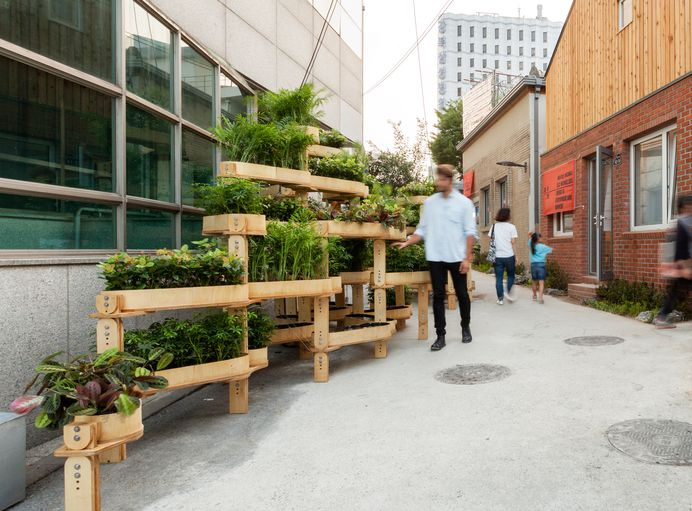 Growmore is a modular building kit for urban gardeners