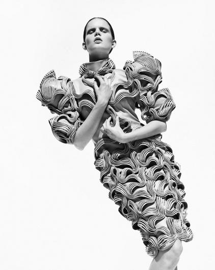 COUTE QUE COUTE: IRIS VAN HERPEN »CAPRIOLE« HAUTE COUTURE WOMEN'S COLLECTION / AUTUMN/WINTER 2011/12 #fashion #art