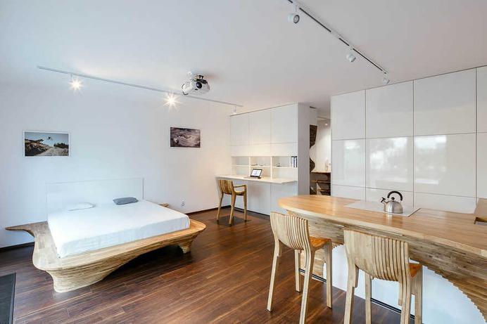 small apartment, Prague / Archistroj Design Studio