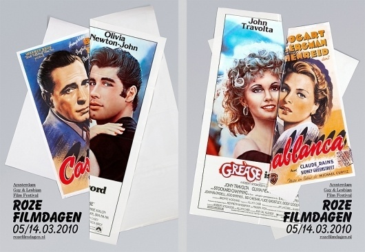 Pink Film Days : Lernert & Sander #print #poster #film