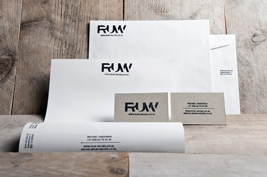 RUW on the Behance Network