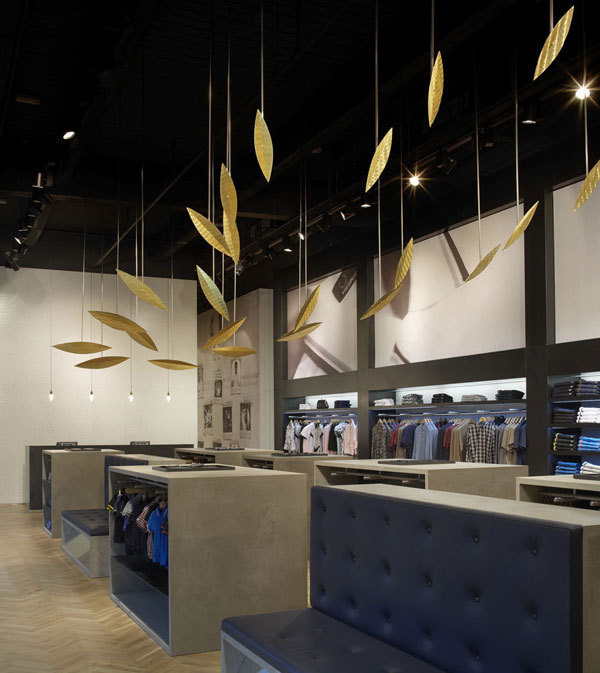fredperry2 #interior #installation #perry #wood #retail #fred