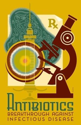 SPOTLIGHT HEALTH: ANTIBIOTICS POSTER #poster