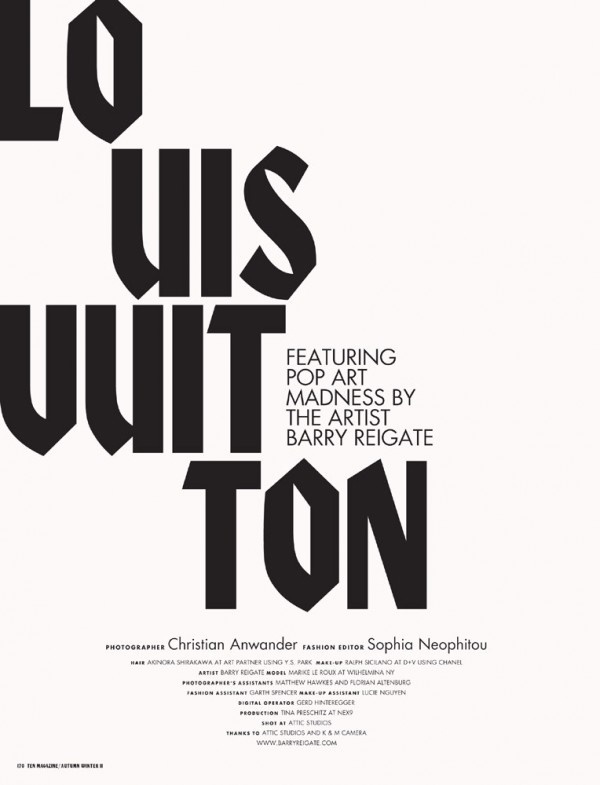 Louis Vuitton Typography #blackletter #typo #typography #lettering #poster