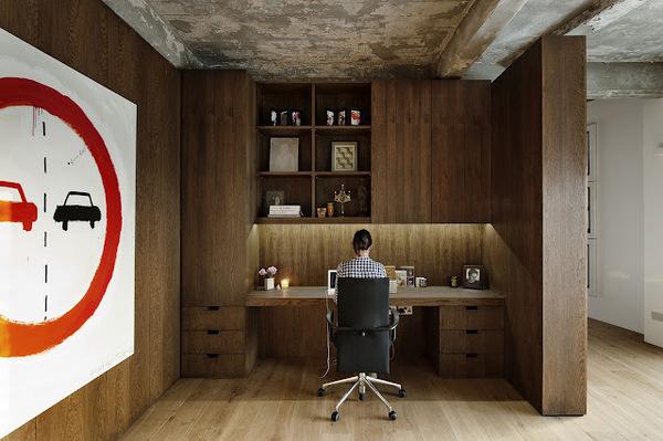 The Design Chaser: Homes to Inspire   London Loft Apartment #interior #design #desk #deco #decoration