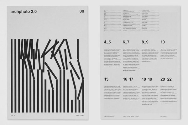 Archphoto 2.0 on the Behance Network #swiss #design #graphic #layout #typography