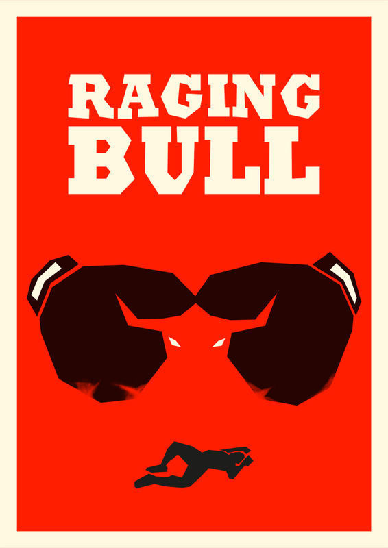 RAGING BULL - product images of #raging #movie #malatesta #rocco #poster #bull