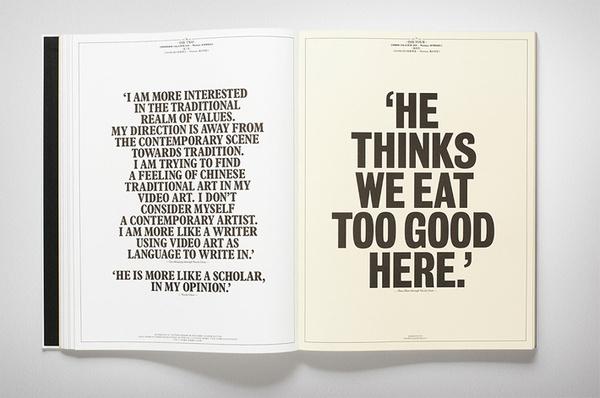 «Fabio Ongarato Design — No Name Station» в потоке «Лукбуки / Каталоги, Типографика» — Посты Р#catalog #typography