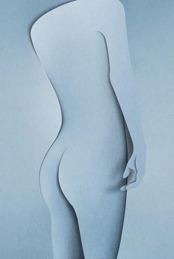 Eiko Ojala » Naked #cut #paper #art #naked