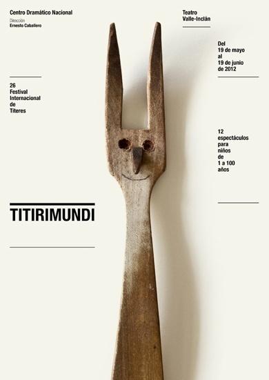 Poster // Flyer / CDN 2011 2012 : Isidro Ferrer #modern