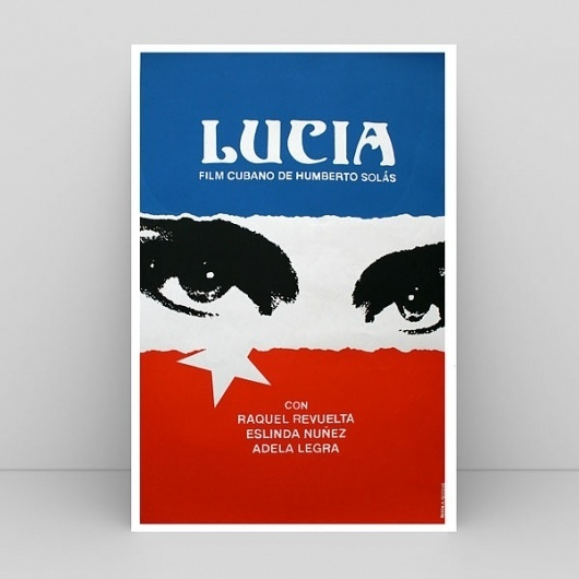 Print-A-Porter — Lucia 1999 #movie #poster