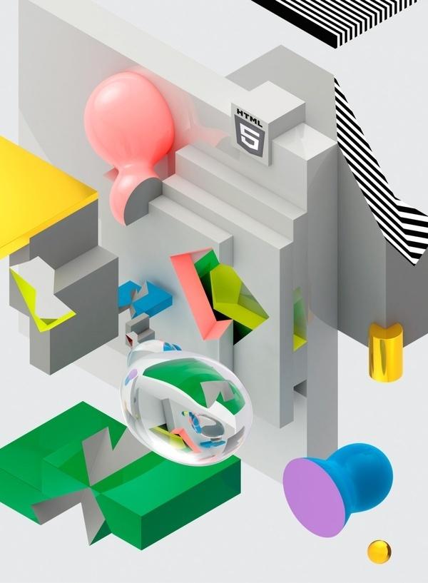 C A T K Computer Arts Magazine #illustrations #poster