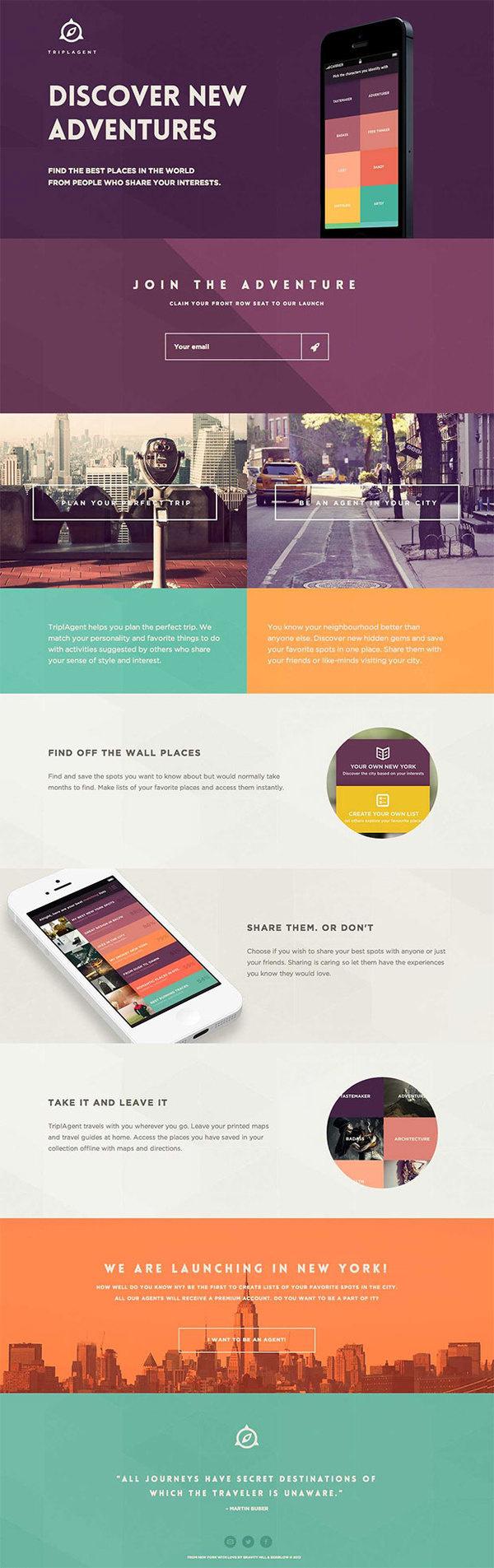 TriplAgent #design #web #ui