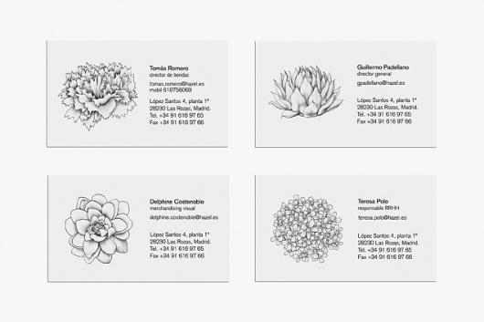 Marina Company #hazel #spain #business #branding #card #illustration #marina #barcelona #company