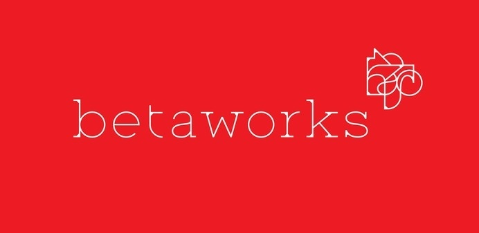 Creative Review - Franklyn's abstract logo for Betaworks #logotype #shapes #typologo #logo #mix