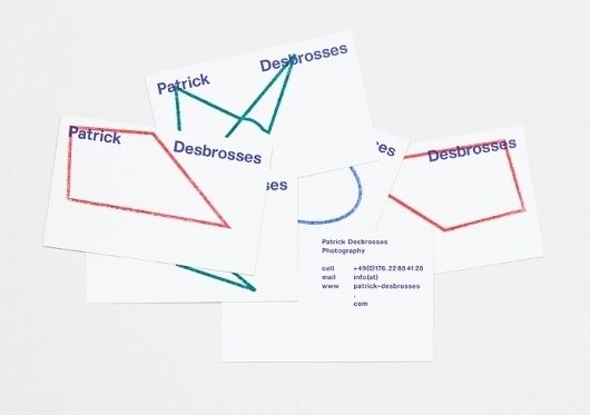 HelloMe — Patrick Desbrosses #identity #till #stationery #wiedeck #desbrosses