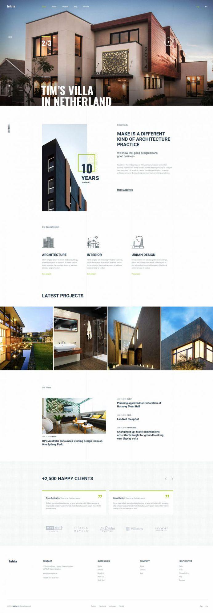 Intria – Architecture and Interior