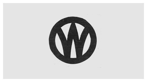 New York Ontario and Western Ry logo (1895) #monogram