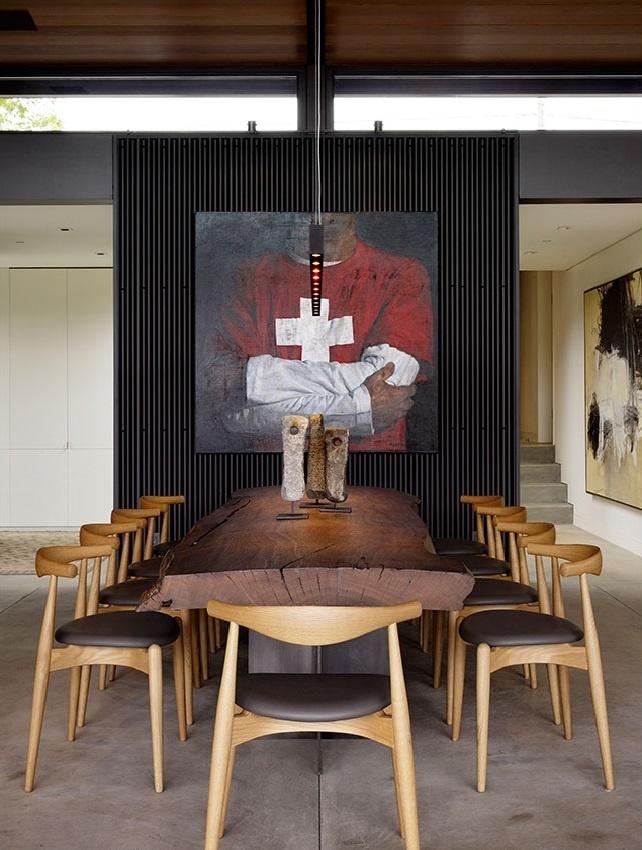 Courtyard House #interiordesign