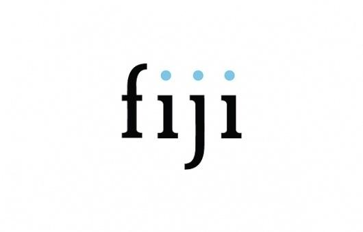 FIJI #font #fiji #design #drawn #typeface #type #hand #typography