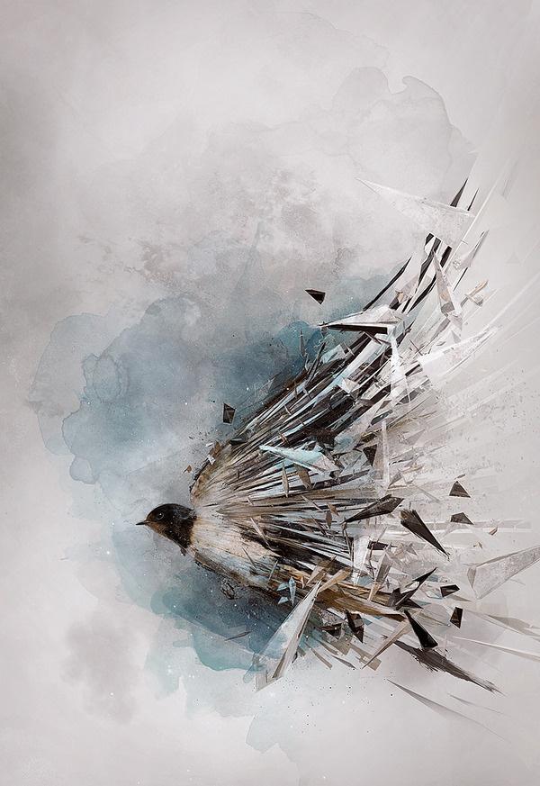 Personal work by Theo Aartsma #digital #illustration #art #bird