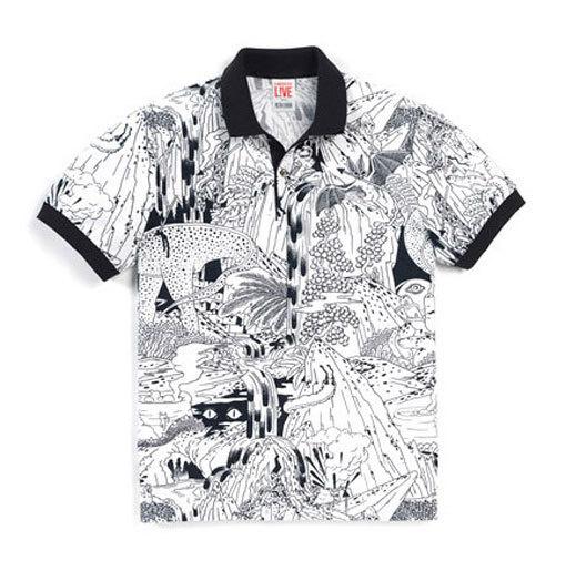 MicahLidberg_lacoste_06 #illustration #tshirt #shirt