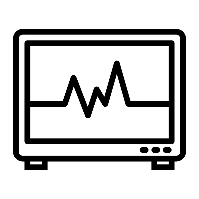 See more icon inspiration related to cardiogram, electrocardiogram, hospital, medical, health clinic and stats on Flaticon.