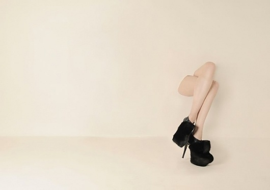 Chi-Lai Yuen presents her new collection of shoes at London College of Fashion #fashion