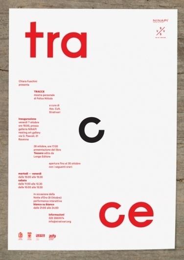 emilio macchia #red #minimalistic #design #graphic #poster #italy #typography