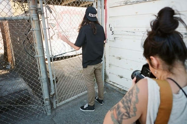 BEHIND THE SCENES OF THE REBEL8 LOOKBOOK | Full Frame Collective #fashion #photo