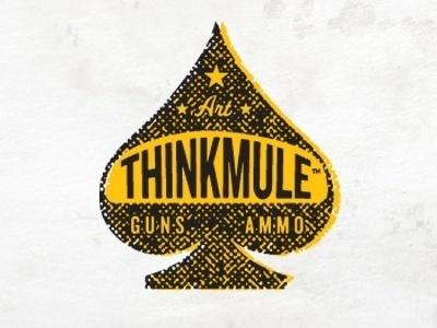 All sizes | THINKMULE™ Spade Logo | Flickr - Photo Sharing! #type #thinkmule #logo
