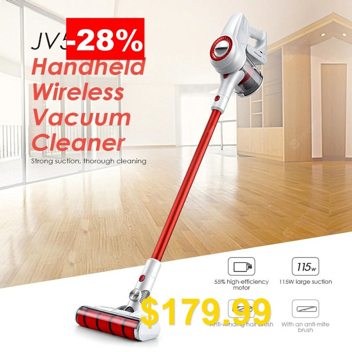 JIMMY #JV51 #Handheld #Wireless #Detachable #Strong #Suction #Vacuum #Cleaner