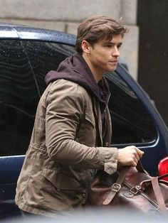 Happy Birthday, Brenton Thwaites, hope you have an amazing day, sending you many good wishes!! His Titan Series Brown Jacket is for you. #happybirthday #brentonthwaites #brownjacket #titanseries #love #insta #celebration