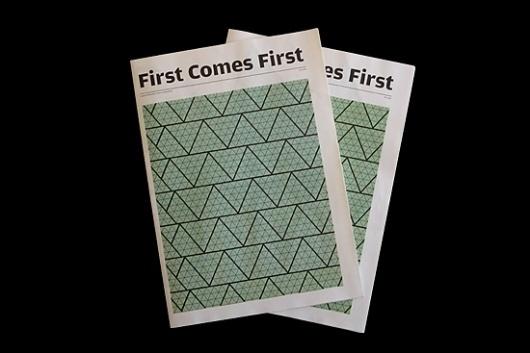 First Comes First : POPlastik #manifesto #poplastik #print #publication