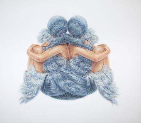 Winnie Truong | PICDIT #hair #drawing #art