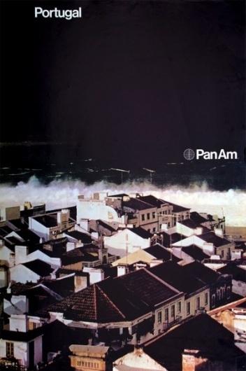 1971 Pan Am Posters | Minimalissimo