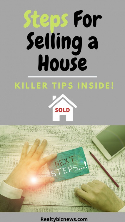 Steps For Selling a Home